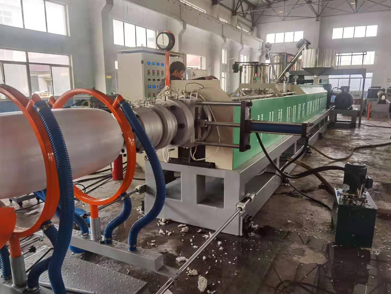 Yemen Customer Inspect 180 model PE foam sheet machine