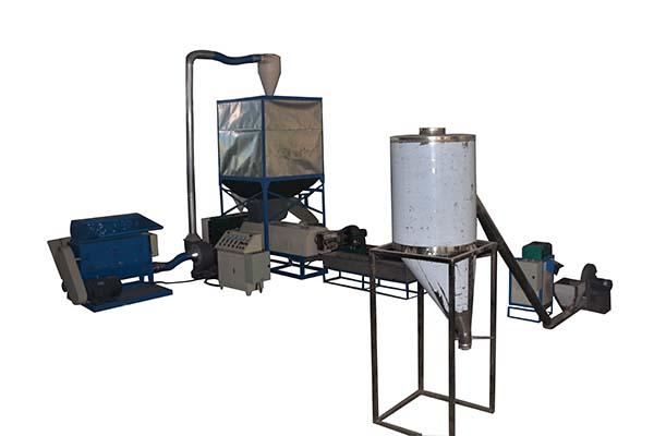 China OEM Plastic Pet Bottle Recycling Machines - PS Foam Crushing And Granulating Machine – Fushi Packing
