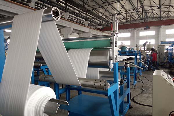 professional factory for Waste Pe/pp Film Recycling Line - EPE Foam Sheet Machine – Fushi Packing